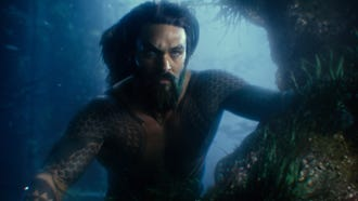 Aquaman (Jason Momoa) is a reluctant hero from the seven seas in 'Justice League.'