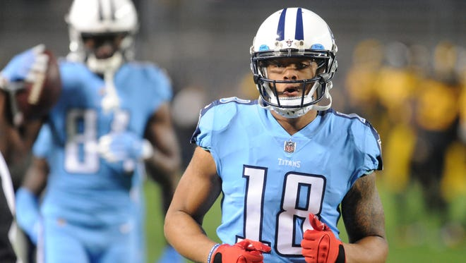 Titans wide receiver Rishard Matthews had his first 100-yard game of the season in Week 11 at Pittsburgh.