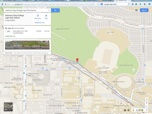 Google Maps Added Mass Transit Routes Around The World And - Google maps arizona