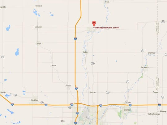 Dell Rapids High School is at 1216 Garfield Ave. on the northeast side of town.