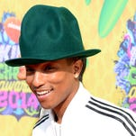 Musician Pharrell Williams attends Nickelodeon's 27th Annual Kids' Choice Awards held at USC Galen Center on March 29, 2014 in Los Angeles, California.