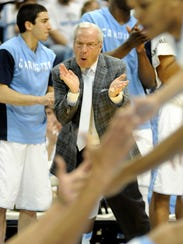 USP NCAA Basketball_ Pittsburgh at North Carolina