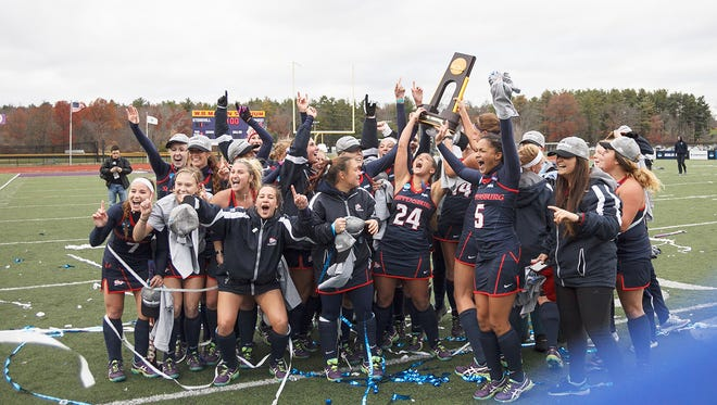 Shippensburg defeated LIU Post, 2-1, on Coughlin Memorial Field, in W.B. Mason Stadium at Stonehill College for claim the NCAA Division II National Championship.