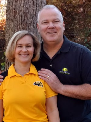 Angie and Rick Walker are the first husband-wife team to enroll in the Human Capital Development doctoral program at Southern Miss.