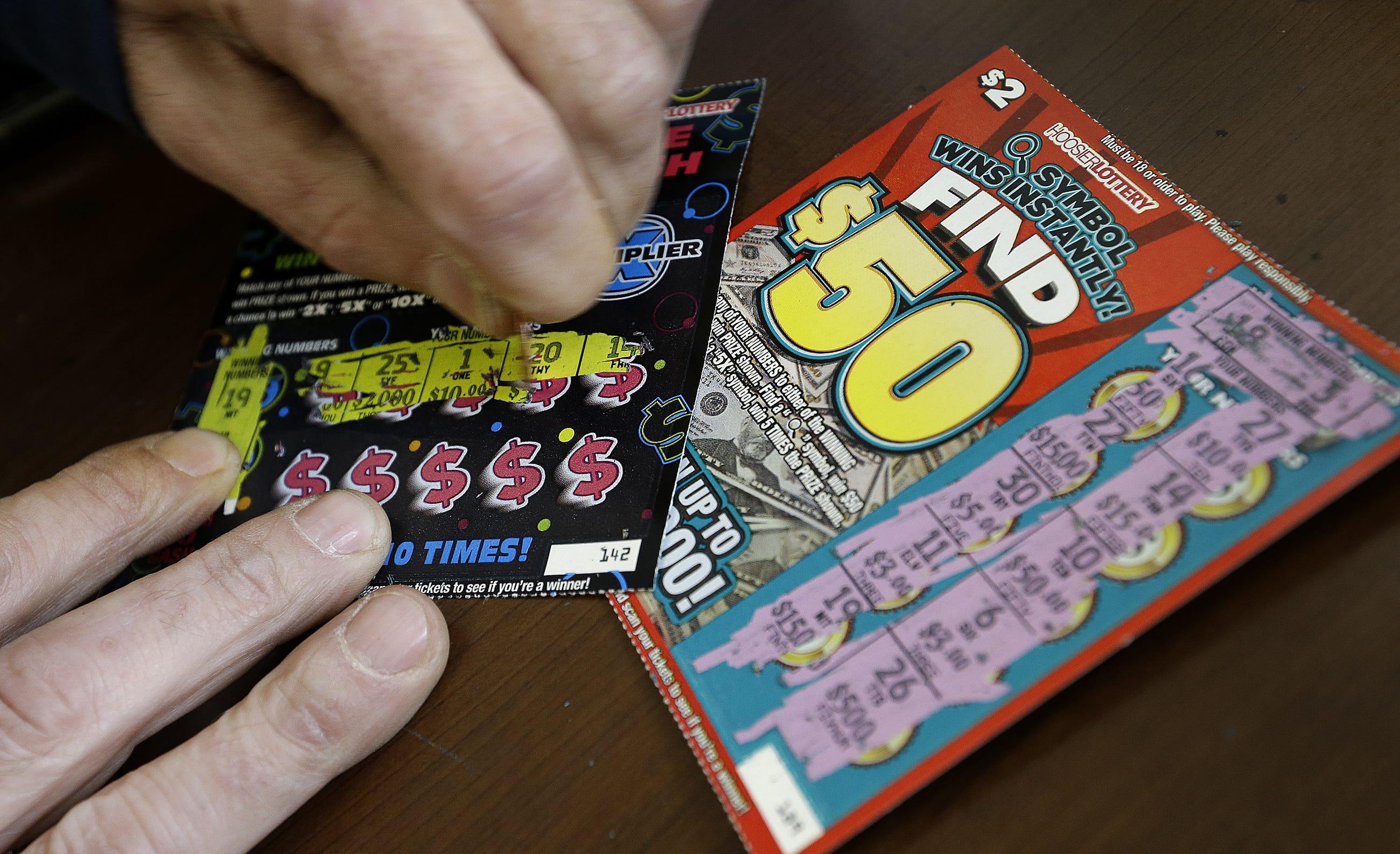 Nebraska lottery scratch prizes remaining in illinois