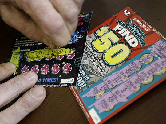 Hoosier Lottery scratch-off tickets are played by gamers