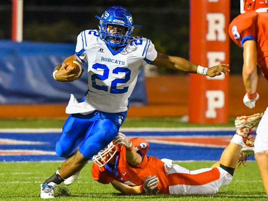 PCS running back Isaiah Woullard helped the Bobcats to a historic season, which included wins over Jackson Academy, MRA and Jackson Prep for the first time.