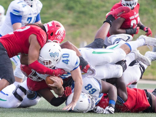 UWF vs West Alabama football