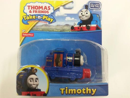 Fisher Price Thomas & Friends train is on the list