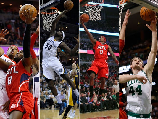 Indiana players in NBA Playoffs