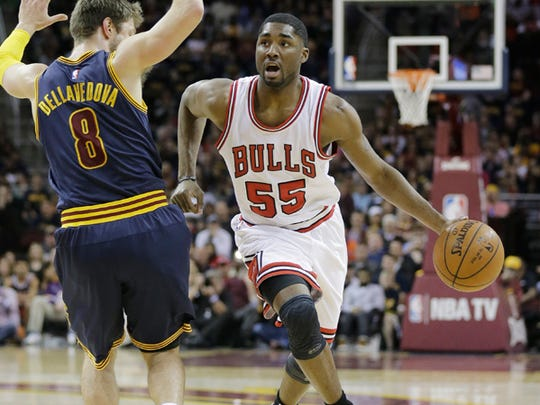 East Chicago High and Purdue product E'Twaun Moore has yet to play this postseason, the second of his NBA career.
