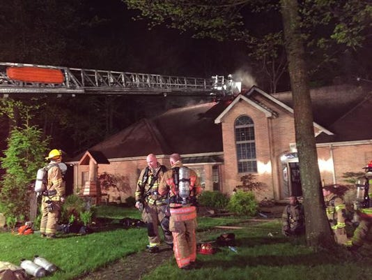 Late-night fire damages Stratford Woods home