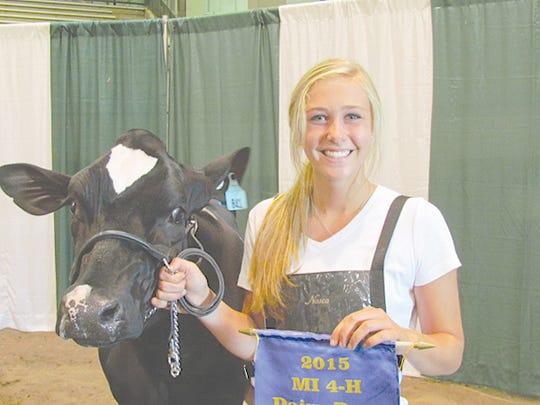 Kristen Burkhardt, Fowlerville (Livingston County)