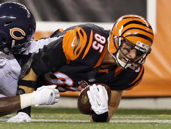 Tyler Eifert, FW Dwenger, Bengals tight end