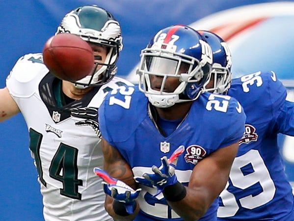 Stevie Brown, Columbus East, Giants defensive back