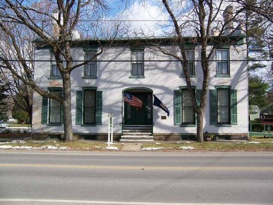 The Schuyler County Historical Society is in the Brick Tavern Museum in Montour Falls.