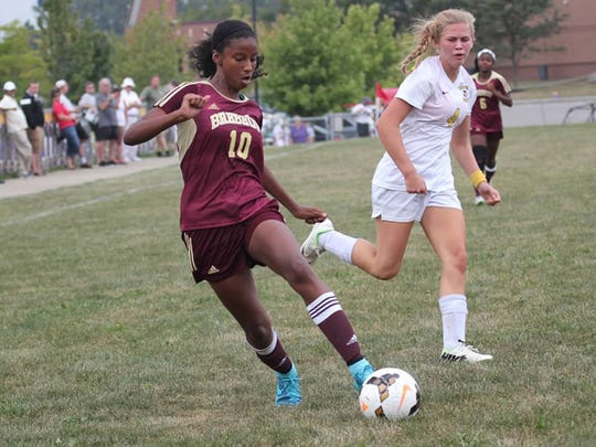 Brebeuf Jesuit soccer player Ryanne Brown