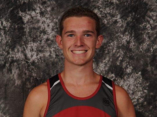 Fishers cross country runner Trevor Thompson