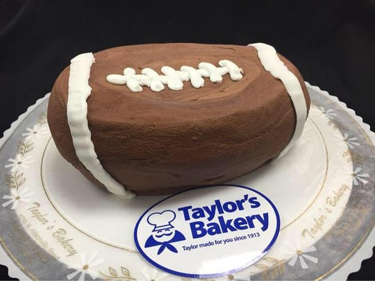 The DeflateCake is half the price of a normal cake at Taylor's Bakery because, well, it's deflated.