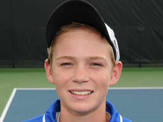 Homestead tennis player David Heiney