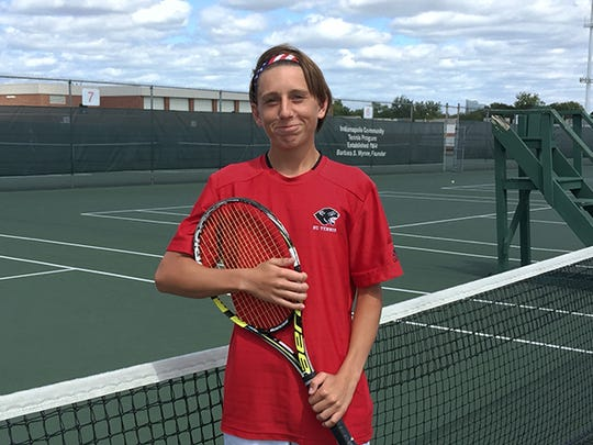 North Central tennis player J.T. Wynne