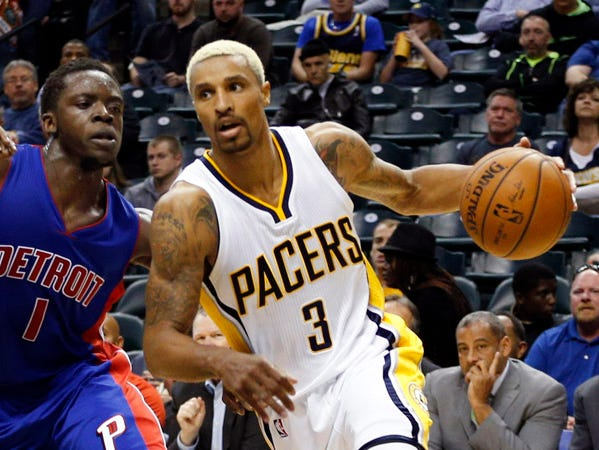 George Hill went to Broad Ripple High School and IUPUI.