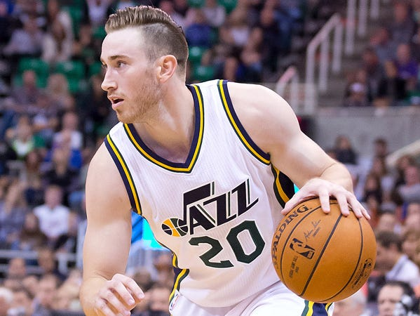 Gordon Hayward went to Brownsburg High School and Butler University for two years.