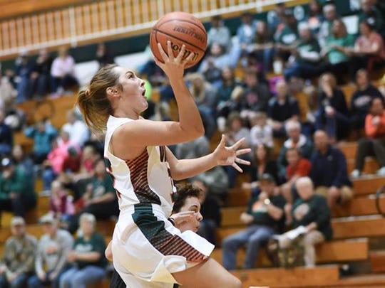 "Vincennes Lincoln basketball player Jene""e Goodwin"