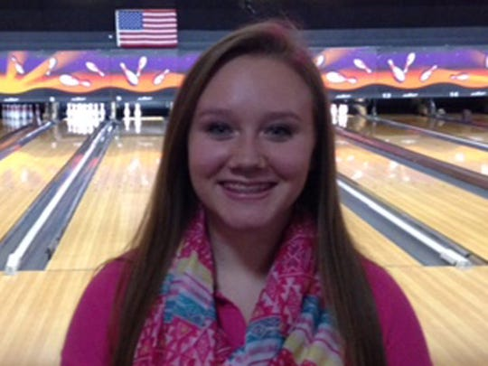 Evansville Harrison bowler Kennedy Craig