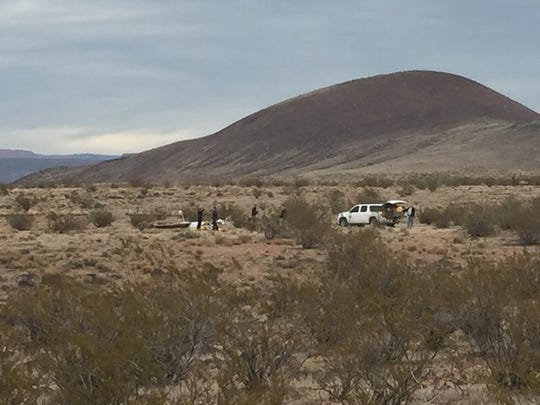 Police and other emergency personnel rushed to the scene of a plane crash in Hurricane at approximately 1:37 p.m. Thursday, Dec. 10, 2015.