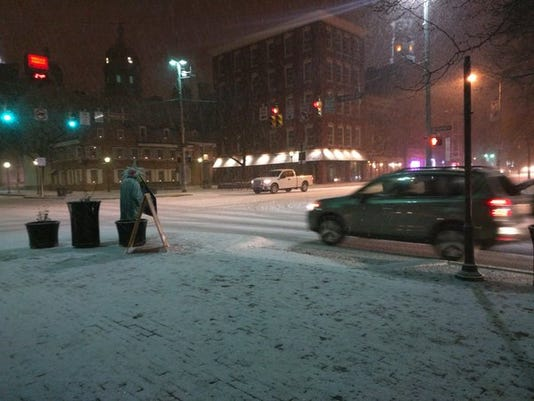 Snow 1/22