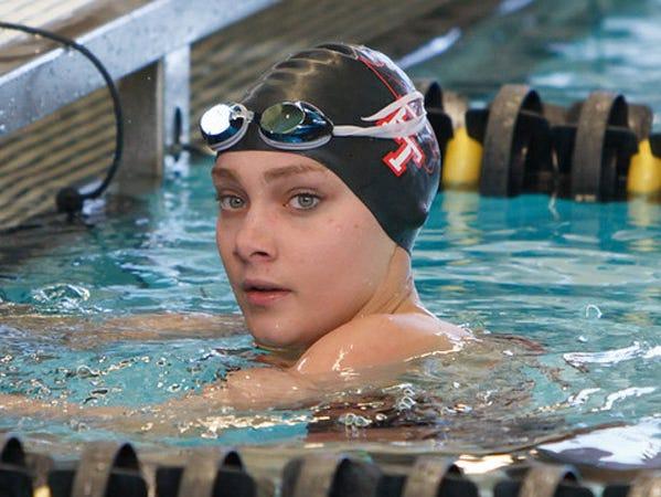 Park Tudor swimmer Veeanna Edwards