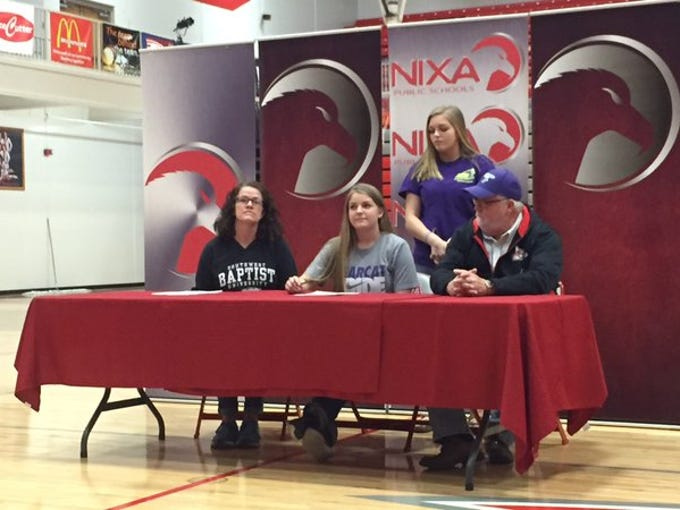 Nixa soccer player Daley Townsend is headed to Bolivar