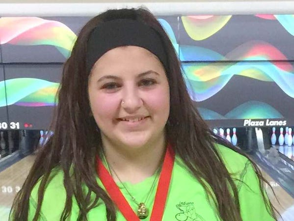 Lake Central bowler Megan Heflin