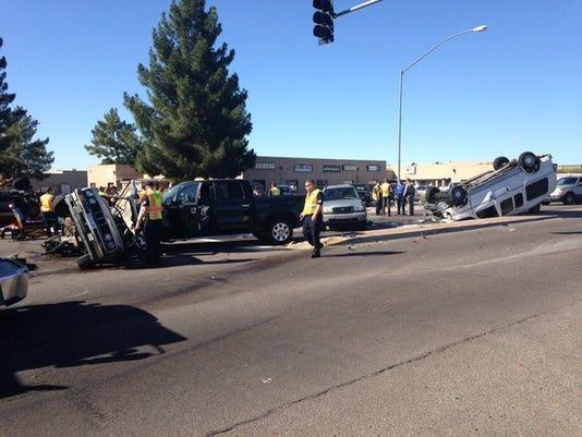 Peoria rollover crash