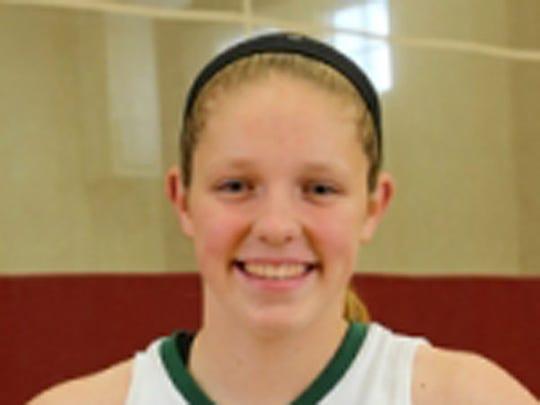 Covenant Christian basketball player Rachel McLimore