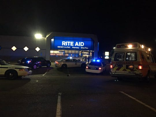 A man was allegedly shot at Rite Aid on McDowell Road
