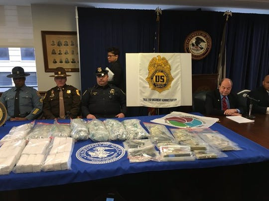 During a press conference Wednesday U.S. Attorney Charles Oberly announced Delaware had made the largest seizure of prepackaged heroin in state history – 48,800 bags worth $488,000.