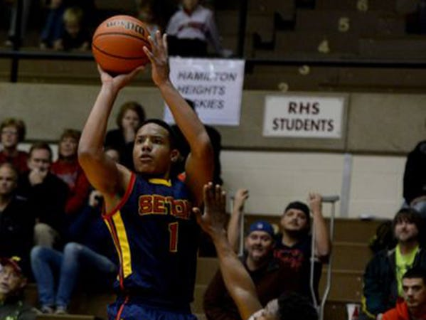 Seton Catholic basketball player Desmond Bane
