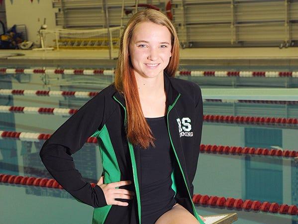 Randolph Southern swimmer MacKenzie Bales