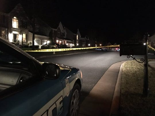 Three officers were injured in a domestic related shooting