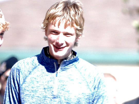 Heritage Christian track and field runner Paul McDonald