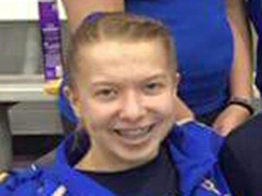 Homestead gymnast Catherine Milnes