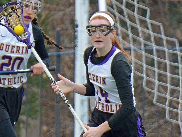 Guerin Catholic lacrosse player Ellie Barrett