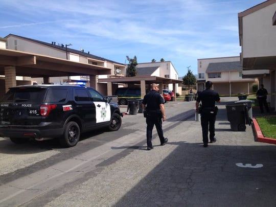 Salinas police respond to reports of a shooting victim in Acosta Plaza