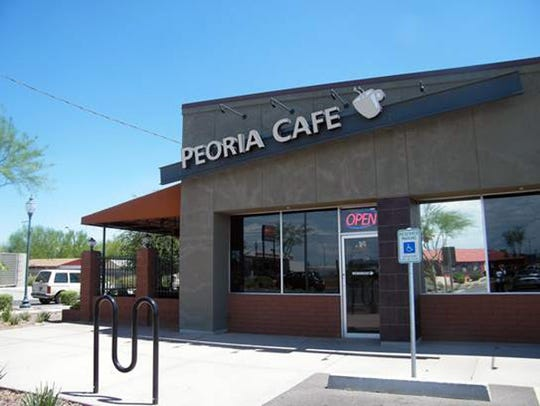 Once catering to cotton farmers, the Peoria Cafe still