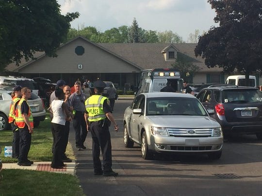 Residents were escorted out of the Ashley Court nursing home by their relatives on Wednesday, May 25.
