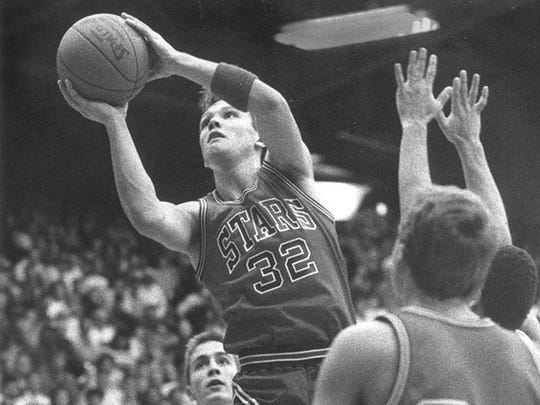 BEDFORD NORTH LAWRENCE -- Damon Bailey left the Stars in 1990 with Mr. Basketball and the state's career scoring record of 3,134 points.