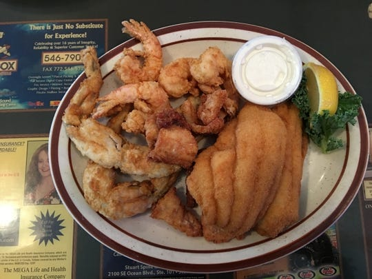 The Catfish House's Greg's Combo is the perfect combination allowing you to sample some of the more exotic choices while still knowing you have shrimp and catfish to eat if you are not a fan of gator or frog legs.