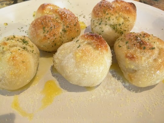 Danny's Pizza's garlic knots can be ordered as an appetizer